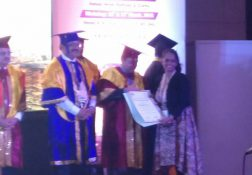 "Ms. Vasugi was awarded the ""IDCCN Topper"" prize at Criticare 2018, Varanasi."